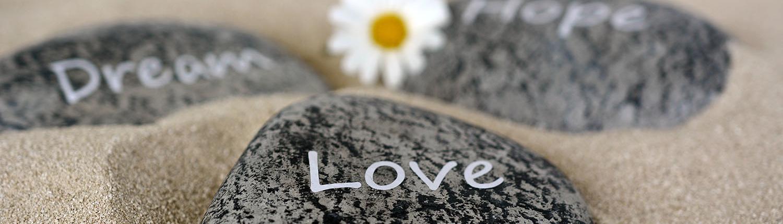 hpnosis - stones love dream hope