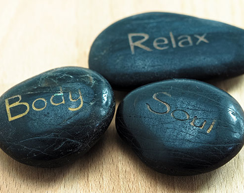 Self-soothing Stones