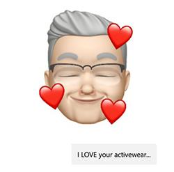 Activewear emoji